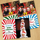 XL Magnetic Photo Christmas Cards + Envelopes D11 -- Send Instead Of Card --