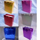 Shiny Paper Gift Carrier Gifts Bags 15cm Christmas Wedding Children Party Bag