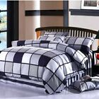 Stripe Quilt Covers New Cotton Double/Queen/King Bed Linen Quilt/Doona Cover Set
