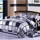 Stripe Quilt Covers New Cotton Double/Queen/King Bed Linen Duvet/Doona Cover Set