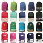Canvas Vintage Backpack Rucksack College Travel Gym Shoulder School Bag Satchel