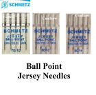 Schmetz Sewing Machine Needles Jersey Ball Point For Knits / Stretch -Mixed size