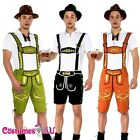 Mens Lederhosen Oktoberfest Octoberfest Bavarian German Beer Costume Fancy Dress