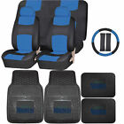 Synthetic Leather Seat Covers Set MLB Seattle Mariners Rubber Mat Universal on Ebay