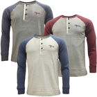 Mens T-Shirts Tokyo Laundry Long Sleeve T Shirt 'Mount Wrangell'
