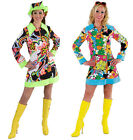 60's / 70's Bright / Colorful Soul Sister Hippy dress