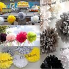 """MIXED SIZE 4"""" 8"""" 12"""" Tissue Paper Pom-poms Flowers Wedding Party DIY Decoration"""