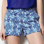 MILLY for DesigNation BLUE PRINT SATEEN SHORTS SIZE 2,4,8;NWT