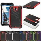 Durable Shockproof Hybrid Rugged Hard Case Cover Shell For Google Nexus 6 2014