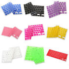 US 9 Colors Silicone Keyboard Cover Skin for Apple Macbook Pro MAC 13 15 17 Air
