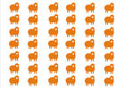 42 x Sheep Stickers Pack - car bike wall art windows vehicles -graphic/decal