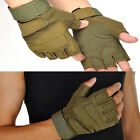Brand New Outdoor Sports Fingerless Military Tactical Hunting Gloves
