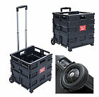 Einkaufswagen 35kg / 25 kg Klappbar Transport Trolley Shopping Trolley Klappbox