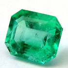 3.62Ct Certified Natural Emerald Green Colombian Loose Gemstone Stone