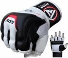 RDX Leather Gel Tech MMA UFC Grappling Gloves Fight Boxing Punch Bag Glove T