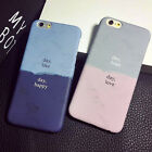 Fashion Day Day Dull Polish Case Cover For Iphone 6/6 PLUS  shell phone Korea
