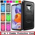 For LG G Stylo LS770 / Stylo 4 Hybrid Case Armor Shockproof Hard Phone Cover