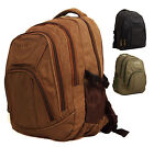 High Quality Large Canvas Ocello College School Hand Luggage Laptop Backpack Bag