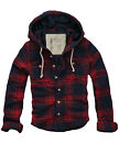 SALE$128 MENS CALI HOLI SLIM FIT QUILTED LINED FLANNEL HOODIE JACKET RED 9826233