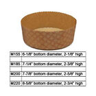 Novacart Panettone Basso Disposable Baking Mold