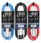 Jagg Guitar Cable Professional Lead Electric Bass Electro Acoustic
