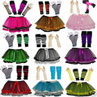 NEON TUTU SKIRT SET 80'S FANCY DRESS HEN PARTY