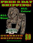 NEW 2016 Hecs Suit Realtree XTRA & MO Country W/Facemask COMPLETE SUIT FREE 2DAY