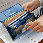 HIMORI Layered Pass Clutch - Bifold Long Wallet Multiple Card Slots Coin Pocket
