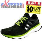 Adidas Mens Energy Boost Reveal Running Fitness Casual Trainers Black*AUTHENTIC*