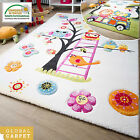 MODERN KIDS RUG MODENA CHILDRENS RUGS COLLECTION OWL ELEPHANT LION COLOURFUL MAT