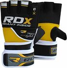 RDX Gel MMA Grappling Gloves Boxing Wrist Wraps Punch Bag Fight Muay Thai UFC
