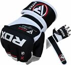 RDX Gel MMA Grappling Gloves Boxing Wrist Wraps Punch Bag Fight Muay Thai