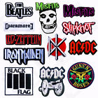 Music ROCK BAND Iron Sew On Embroidered Patch Badge Tshirt Transfer Clothing