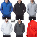 MEN'S PRO CLUB PROCLUB HEAVY WEIGHT PULLOVER PLAIN HOODIE HOODY SIZE S-5X S-5XL