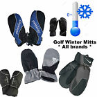 GOLF WINTER MITTS THERMAL GOLF MITTENS GOLF PAIRS NEW 2015 ALL BRANDS !