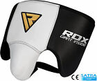 mma cup - RDX Cow Hide Leather No Foul Groin Guard Protector MMA Cup Boxing Abdo Muay Thai