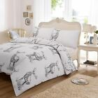 Christmas Wild Stag Deer Duvet Cover With Pillow Case  Bedding Set All Uk Size