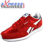Reebok Mens Royal CL Jogger Classic Casual Retro Trainers Red *AUTHENTIC*
