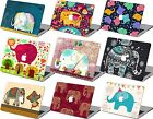 "Elephant Painted Hard Case keyboard Cover For Macbook Pro Air 11 12 13""15""Retina"