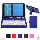 "Keyboard Leather Case Cover For 8"" Nextbook Ares 8 8L Android Tablet MDHW"