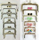 Purse Clasps Various Shapes & Sizes Kiss Lock Frame Mixed Metal Handle Findings