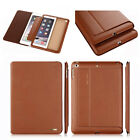 Brand Slim Genuine Leather Case Auto Sleep Cover Pouch For iPad 2 3 4/ mini/ Air