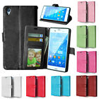 sony xperia z1 photo - New Magnetic Flip Stand Leather Wallet Photo Card Case Cover For Sony Xperia