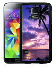 BEACH SUNSET RUBBER CASE FOR SAMSUNG S4 S5 S6