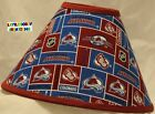 NHL COLORADO AVALANCHE Lamp Shade (Made by LBC)  SHIPS WITHIN 24 TO 48 HOURS!!! on eBay