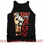 RAGE AGAINST THE MACHINE PUNK ROCK BAND TANK TOP T SHIRT MEN'S SIZES image