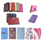 """Protective PU Leather Keyboard Case For HIPSTREET Titan 4 7"""" Tablet PC"""