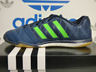 NEW ADIDAS Freefootball Top Sala Mens Shoes - Blue/Green;  M19978