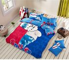 *** Gutsy Smurf Queen Bed Quilt Cover Set - Flat or Fitted Sheet ***