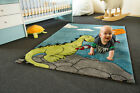KIDS RUG LITTLE CARPET CHILDRENS RUGS COLLECTION DRAGON HENRI COLOURFUL PLAY MAT